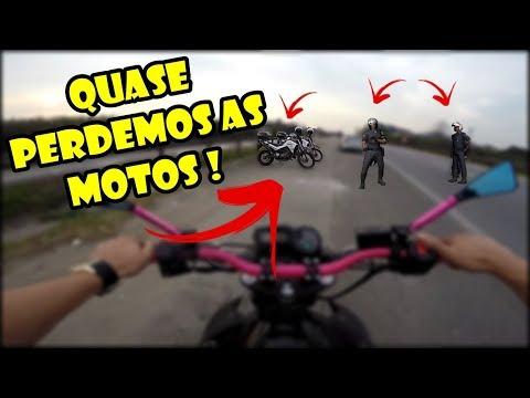 ENQUADRO DA FEDERAL DE NOVO - QUASE PERDEMOS AS MOTOS