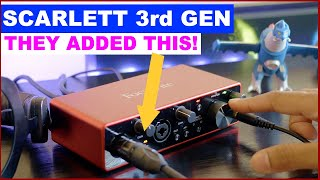 Scarlett 2i2 3rd Gen Review and Test