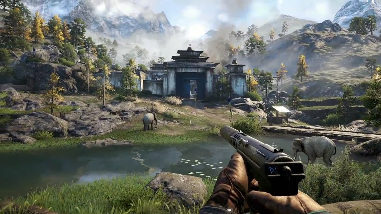 Far Cry 4 Gameplay Demo E3 2014 Youtube