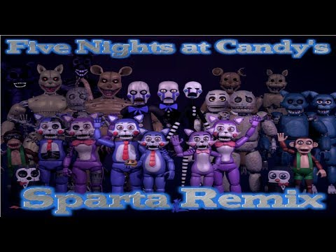 "Five Nights at Candy's - The ""Sweet"" Remix"