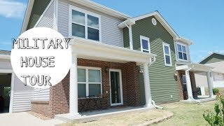 MILITARY HOUSE TOUR! Living On A Military Base??