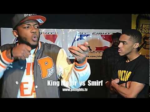 NO LOVE: Pit Fights Battle League: King Major vs Smirf