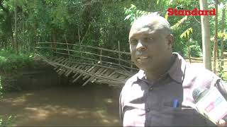 Residents urge County Government of Bomet to intervene in rebuilding Cheptigit-Mogoiwet bridge