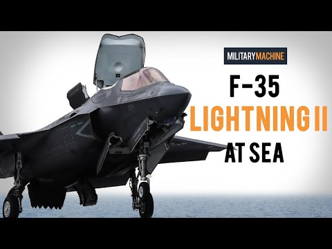 F-35 Lightning II At Sea (Military Machine)