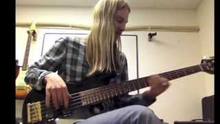 Love Machine - Girls Aloud - Bass Cover by Aidan Hampson HD