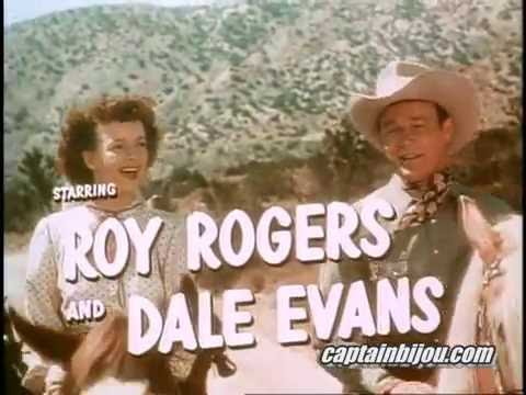 BELLS OF CORONADO TRAILER - 1950 - ROY ROGERS, DALE EVANS
