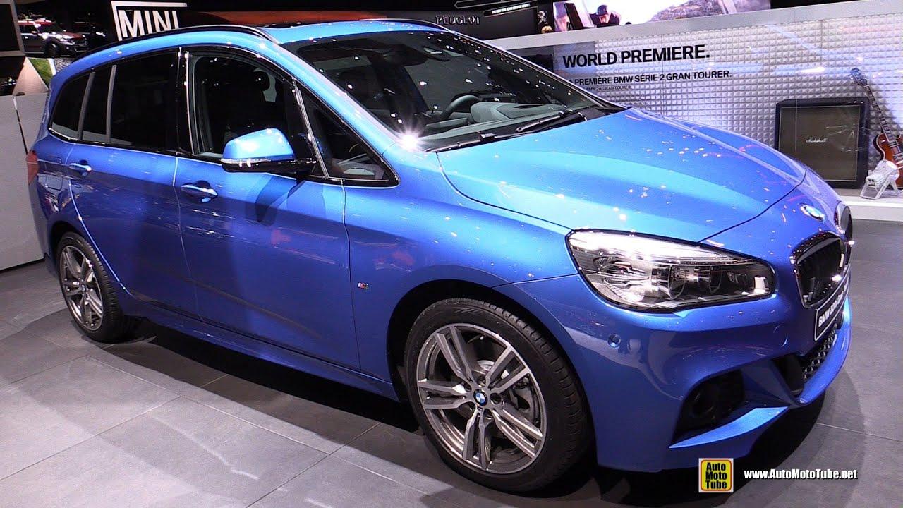 2016 BMW 220i Gran Tourer - M Sport - Exterior and Interior Walkaround - 2015 Geneva Motor Show - YouTube