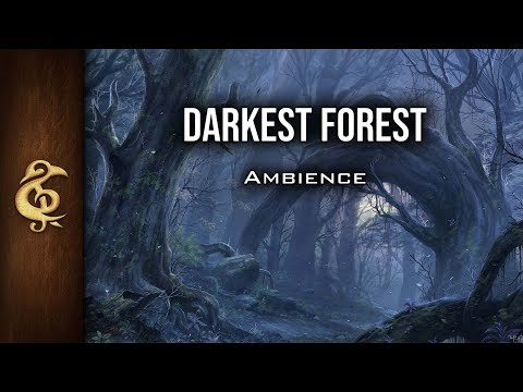 🎧 RPG / D&D Ambience - Darkest Forest | Monsters, Corruption, Danger