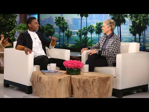 The Hilarious Jerrod Carmichael's Ellen Debut