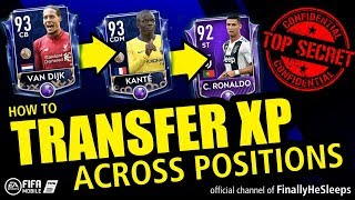 Transfer XP ACROSS POSITIONS in FIFA Mobile - Secret Players with Confused Training