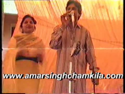 Chamkila amarjot Live akhara VILLAGE KOTHE
