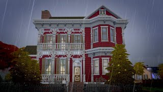 I built a haunted house in The Sims 4