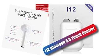 i12 TWS kulaklık telefona nasıl bağlanır?  Bluetooth, Siri Destekli Dokunmatik kablosuz kulaklık