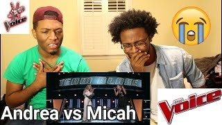 Download The Voice 2017 Battle - Andrea Thomas vs. Micah Tryba: