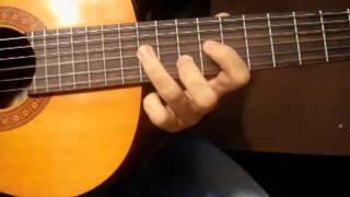 Как играть на гитаре мелодию Розовая пантера