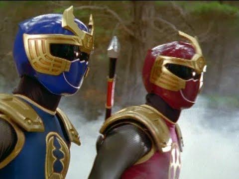 Power Rangers Ninja Storm - Thunder Rangers Morph and Fight | Episode 7