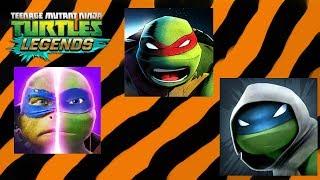 ЧЕРЕПАШКИ НИНДЗЯ ЛЕГЕНДЫ Teenage Mutant Ninja Turtles Legends игра на андроид про черепашек