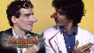 Charly García y Luis Alberto Spinetta juegan al Argentum Online