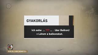 Szólalj meg! – németül, 2017. március 9.