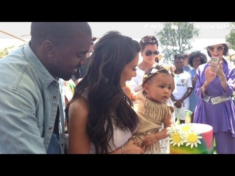 "Kim Kardashian & Kanye West Throw North ""Kidchella"" Themed Birthday Party"