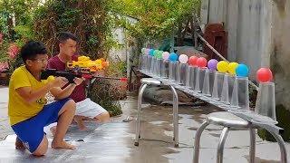 Trò Chơi Bé Vui Thử Thách Sân Nhà ❤ ChiChi ToysReview TV ❤ Đồ Chơi Trẻ Em Baby Fun Bài Hát Vần Thơ