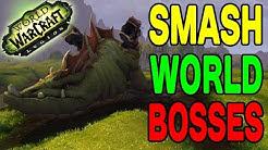 World of Warcraft LEGION: SMASH World Bosses !!