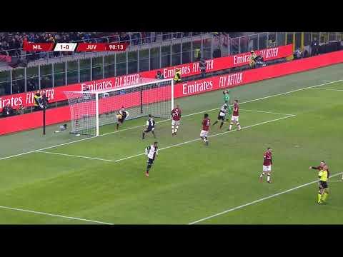 Ronaldo goal vs AC Milan | 02/13/20