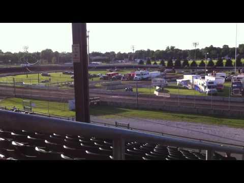 Heat race  - Iowa State Fair Speedway Des Moines