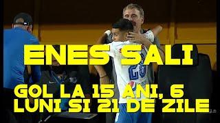 Enes Sali, cel mai tânăr marcator din istoria fotbalului românesc! Reacția lui H