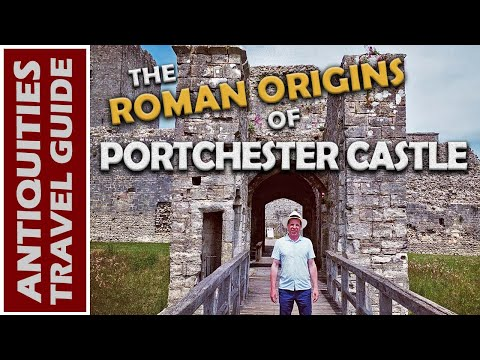Ancient Ruins On The ISLE OF WIGHT / Roman Origins Of Portchester Castle