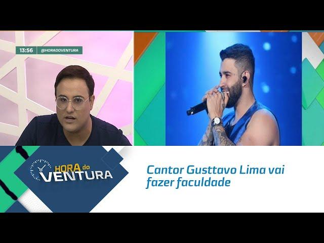 Cantor Gusttavo Lima vai fazer faculdade de música! - Bloco 01
