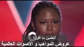لأول مرة في البرنامج بنت تطلب إعادة غناء الأغنية بدون موسيقى  ذا فويس الأمريكي   كامل   مترجم حصرياً