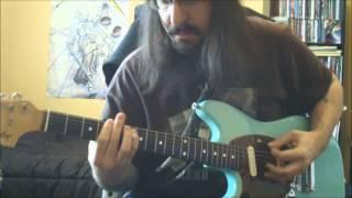BUSH - Greedy Fly - guitar cover - Full HD