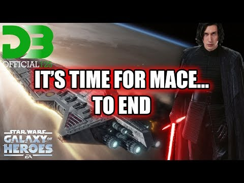 Its Time For Mace Timeout... To End! KRU Fleet Part 2 SWGOH