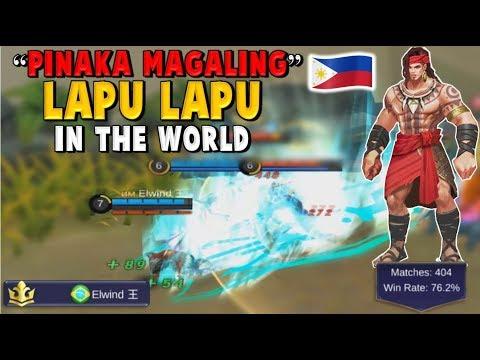 WORLD TOP 1 LAPU LAPU PLAYER – ELWIND– PHILIPPINES MADLANG PEOPLE :D Mobile Legends