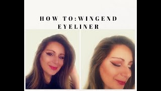 How to: Winged Eyeliner Quick and Easy!!!| Make Up Tutorial
