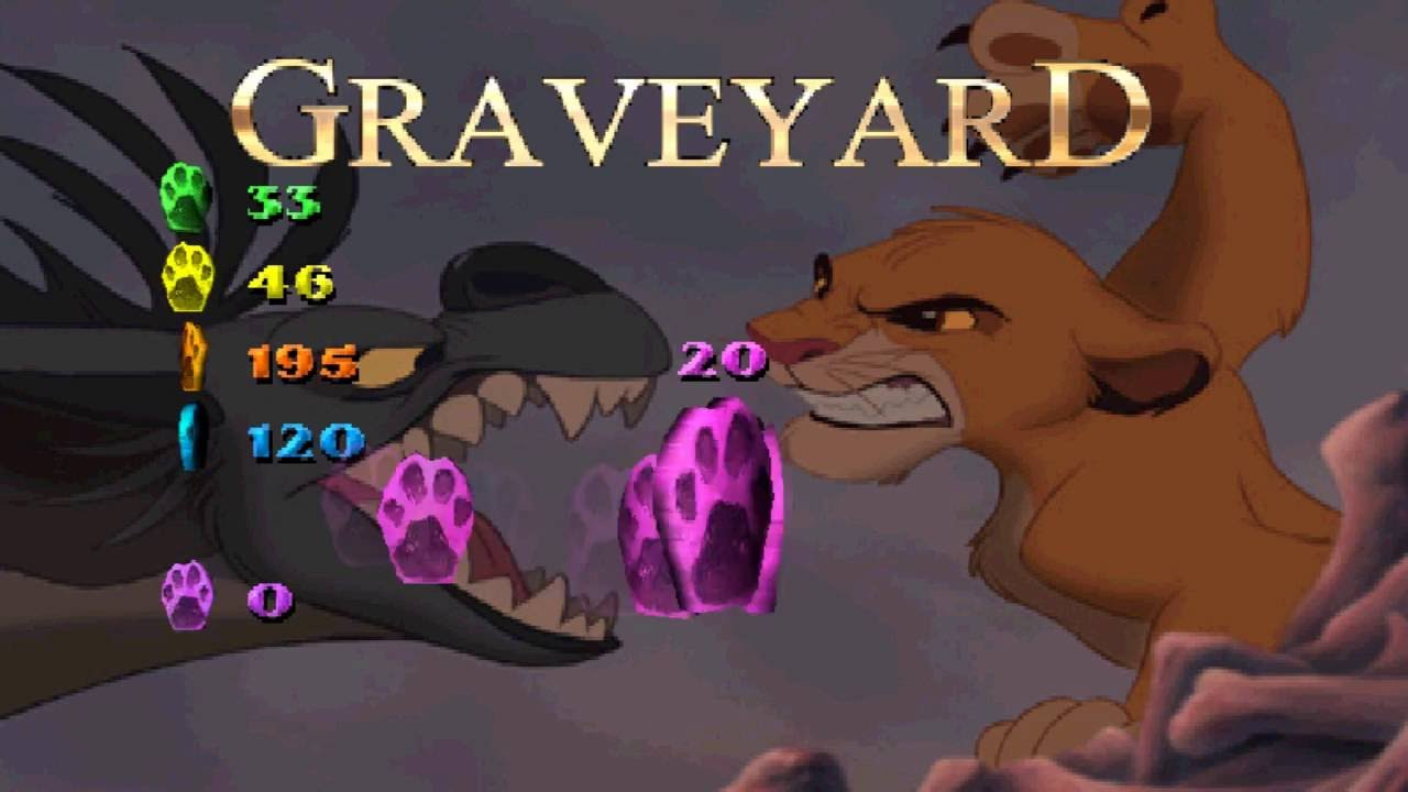 The Lion King Simba S Mighty Adventure Part 2 Graveyard