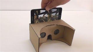 Как сделать Виртуальные очки из картона