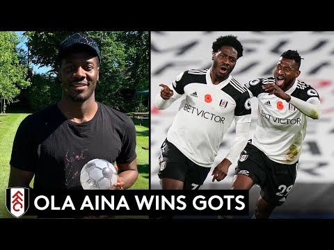 """Ola Aina: """"I could talk about it all day"""" 