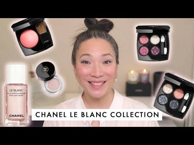 CHANEL Le Blanc 2020 Collection - La Fleur et LEau Collection - Demo and Review