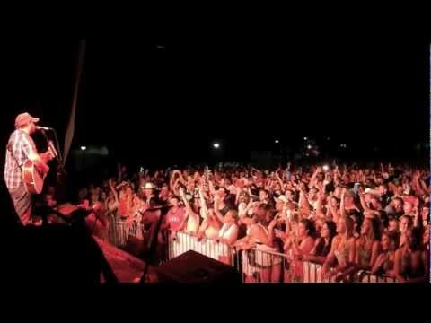 "Josh Abbott Band -  ""We Are Young"" by Fun. at Lone Star Jam 2012"
