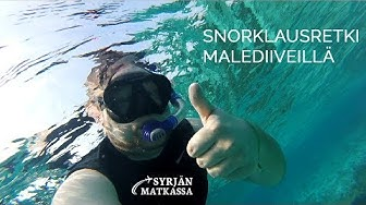 Snorklaus Malediiveillä