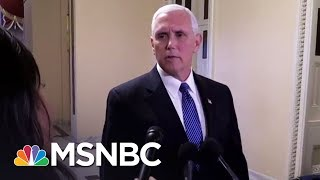 Mike Pence Hires Lawyer With Relevant Experience; Robert Mueller Builds Team | Rachel Maddow | MSNBC