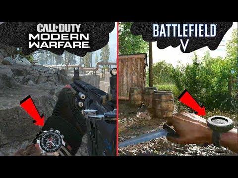 COD: Modern Warfare Vs Battlefield 5  Attention to detail & Graphics Comparison