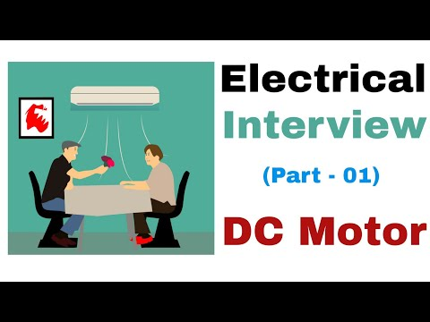 Electrical Engineering Interview Question Answer in Hindi |DC Motor Interview Questions| |Part 01|