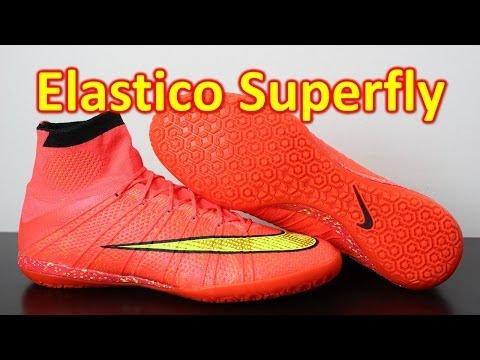 Nike Elastico Superfly 4 IC Indoor/Futsal Hyper Punch/Volt - Unboxing + On Feet