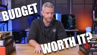 Download Are Budget builds ACTUALLY worth it? Mp3 and Videos
