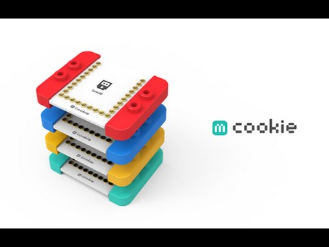 Microduino mCookie, Open-source Magnetic Module Compatible with LEGO Arduino