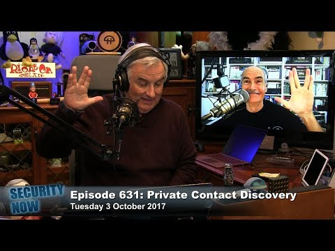 Security Now 631: Private Contact Discovery