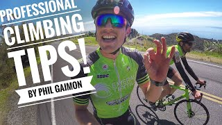 3 TIPS TO IMPROVE CLIMBING by Phil Gaimon! - #Cycling Los Angeles